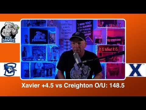 Xavier vs Creighton 2/27/21 Free College Basketball Pick and Prediction CBB Betting Tips