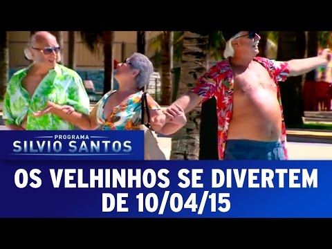 Os Velhinhos Se Divertem (10/04/16) - Completo