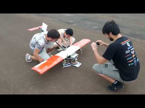 Vídeo de Voo - Keep Flying Jr. - 218 - SAE Brasil Aerodesign 2018
