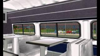 Train Simulator: Amtrak Pennsylvanian 43 Departing Altoona, PA