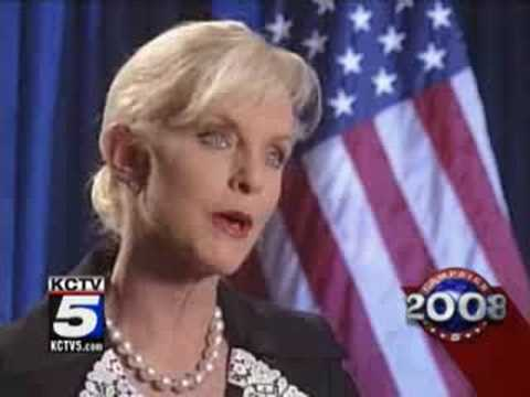 Cindy McCain Interviewed in KC - 7/30/08
