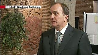 Löfven: Känner en stor sorg - Nyheterna (TV4)