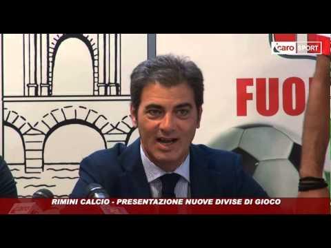 Icaro Sport. Rimini Calcio: presentate le nuove maglie Lotto