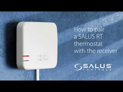 How To Re Pair Salus Rt Thermostat With Receiver Youtube