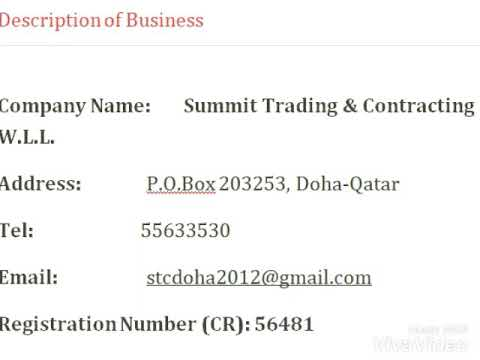 Summit Trading and Contracting | Md Raghunathan | Most Experienced contractor in Doha| qatar |