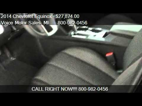 2014 chevrolet equinox 1lt awd 4 door for sale in for Voice motors kalkaska michigan