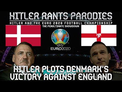 Hitler plots Denmark's victory against England