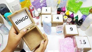 Video Şansına Kutudan Ne Çıkarsa Slime Challenge #2 - Bingo Kimde? - Eğlenceli Slime Yarışması download MP3, 3GP, MP4, WEBM, AVI, FLV Desember 2017