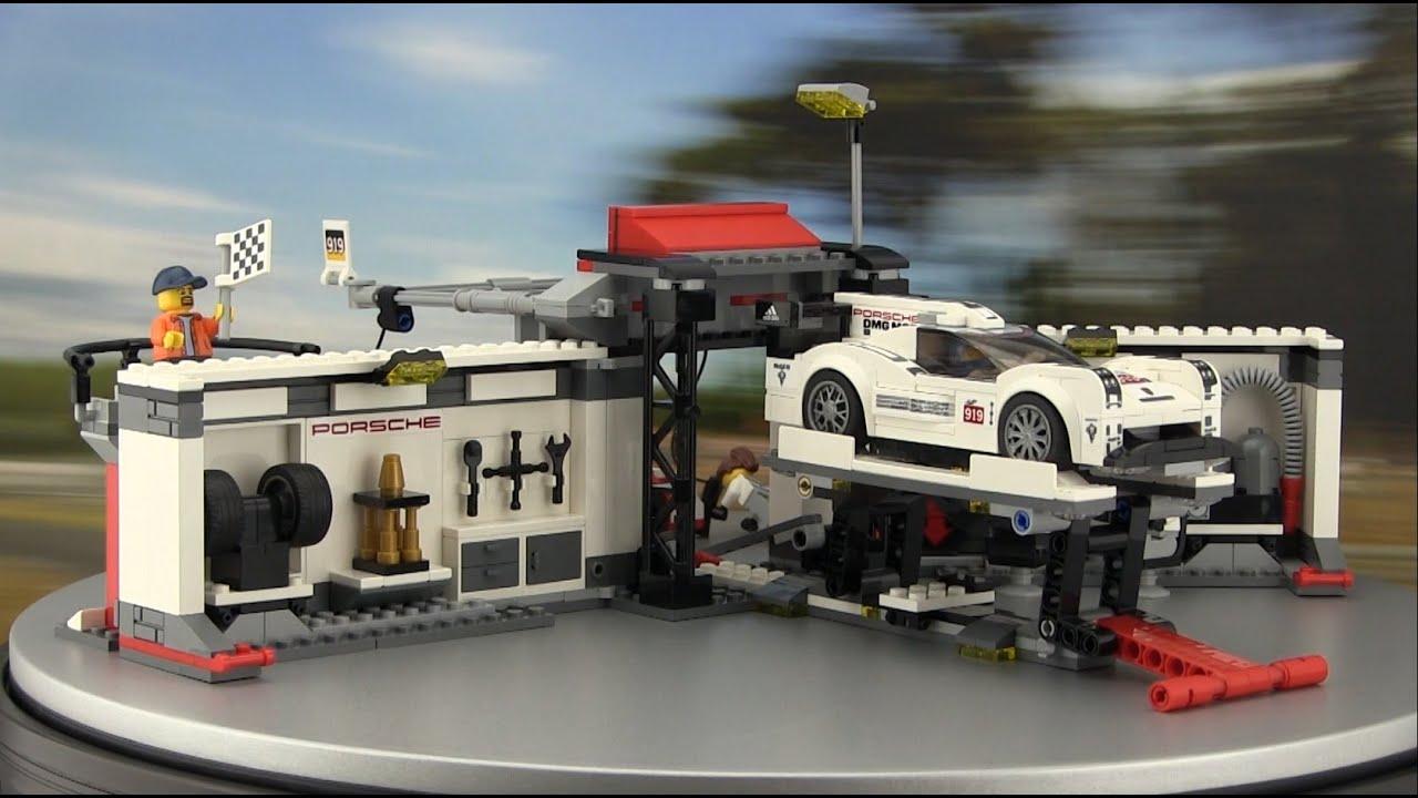 lego speed champions porsche 911 gt3 r hybrid und gt3 rsr youtube. Black Bedroom Furniture Sets. Home Design Ideas
