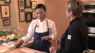 Shirley Chung Makes Steamed Black Cod