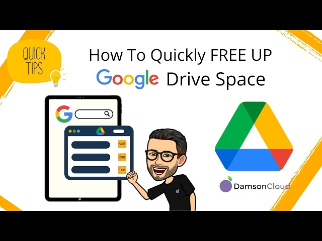 Google Drive:  How To Free Up Storage Space FAST.