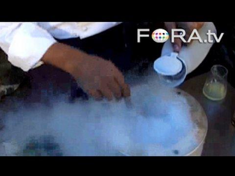 Cooking with Liquid Nitrogen - Ferran Adria and Harold McGee