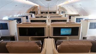 Join me on this Business Class trip onboard a Singapore Airlines A3...