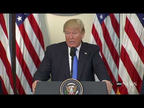 President Donald Trump full remarks on voter fraud ahead of commission's first meeting