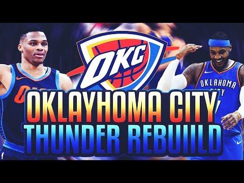 60 POINT WIN?! THUNDER REBUILD! NBA 2K18