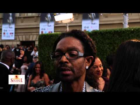 Wendell James interview at the 46th Annual NAACP Image Awards