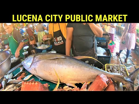 Lucena City Public Market | Shopping for our Beach Swimming Preparation
