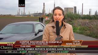 Showreel scene: TV Reporter