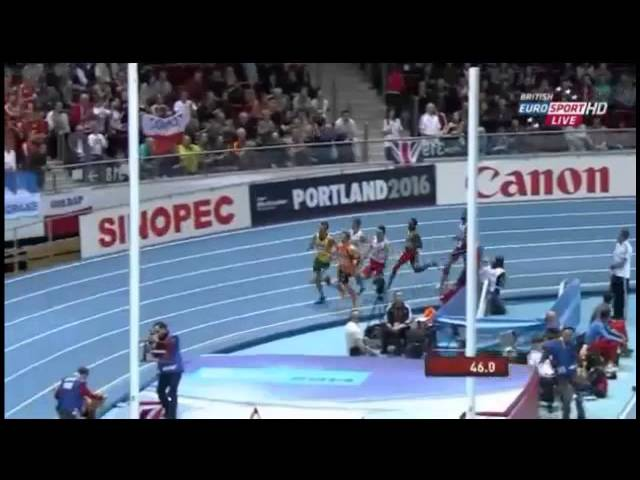 800m Men Final - Mohammed Aman - Sopot 2014
