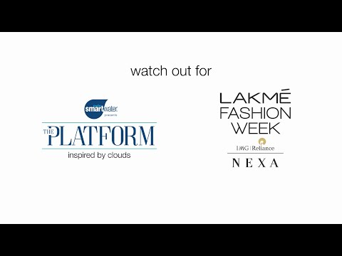 'the platform' by smartwater at Lakme Fashion Week: for fashion inspired by clouds