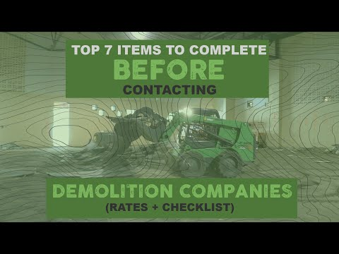 top-7-items-to-complete-before-contacting-demolition-companies-(rates-+-free-checklist)
