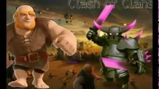 Clash of clans o exercito de uma tropa so !!!