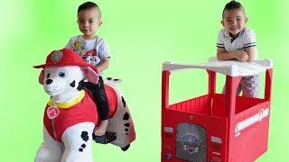 Paw Patrol Marshall 6V Plush Ride On Fun With Ckn Toys