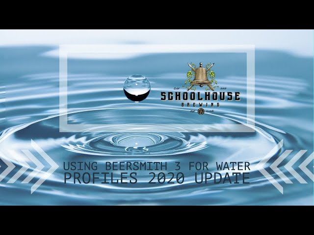 Homebrewing Water Chemistry Using Beersmith 3 (Update 2020)