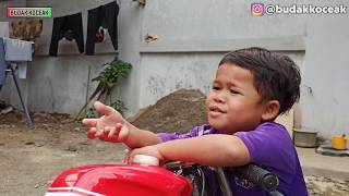 Irfan lontong Ngajakin Feby Nonton  PERSITA VS PSM MAKKASAR