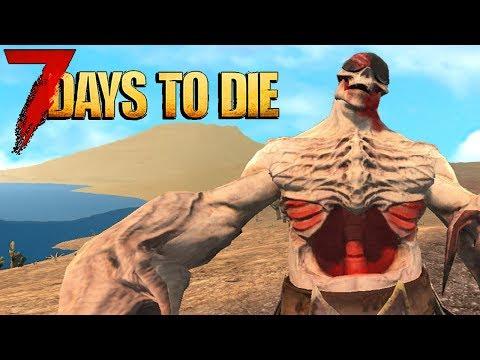 😱 7 Days To Die INSANE HORDE BOSSES! 😱 7 Days To Die Modded LIVESTREAM!
