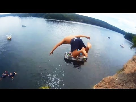 JUMP INTO WATER GONE WRONG fails pt.5 [FailForceOne] Mp3