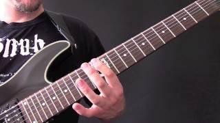 Marduk Bleached Bones Guitar Tutorial