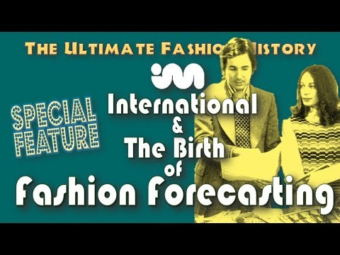 """SPECIAL FEATURE: """"I.M International"""" and The Birth of Fashion Forecasting"""