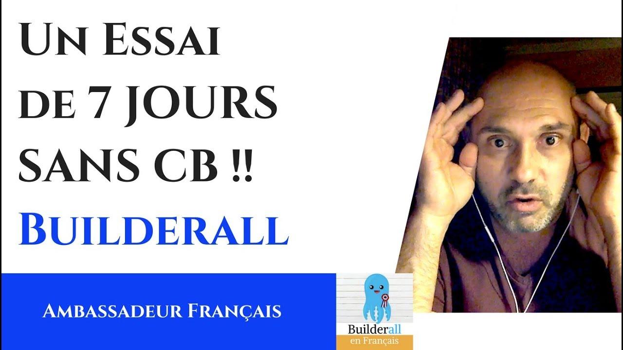 BuilderAll en Français - Le meilleur outils Web-Marketing du monde - 7 JOURS D'ESSAI GRATUIT