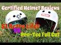 S1 Retro Lifer vs. Pro-Tec Full Cut.  Watch this before you buy!