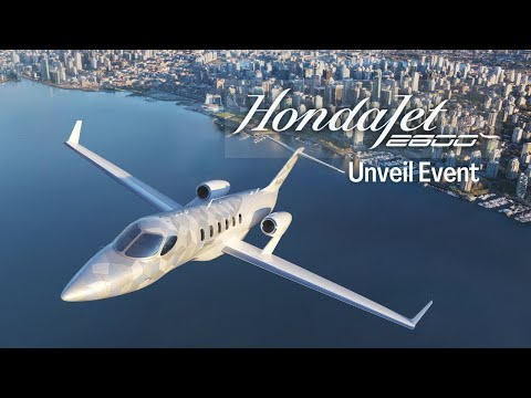 HondaJet 2600 Concept Unveil Event | The Innovation is Not Over Yet