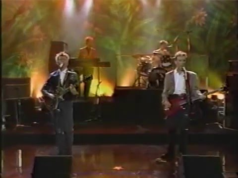 Crowded House on The Joan Rivers Show - 1st Appearance, 1987