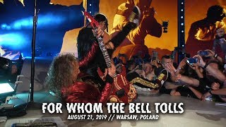Metallica: For Whom the Bell Tolls (Warsaw, Poland - August 21, 2019)