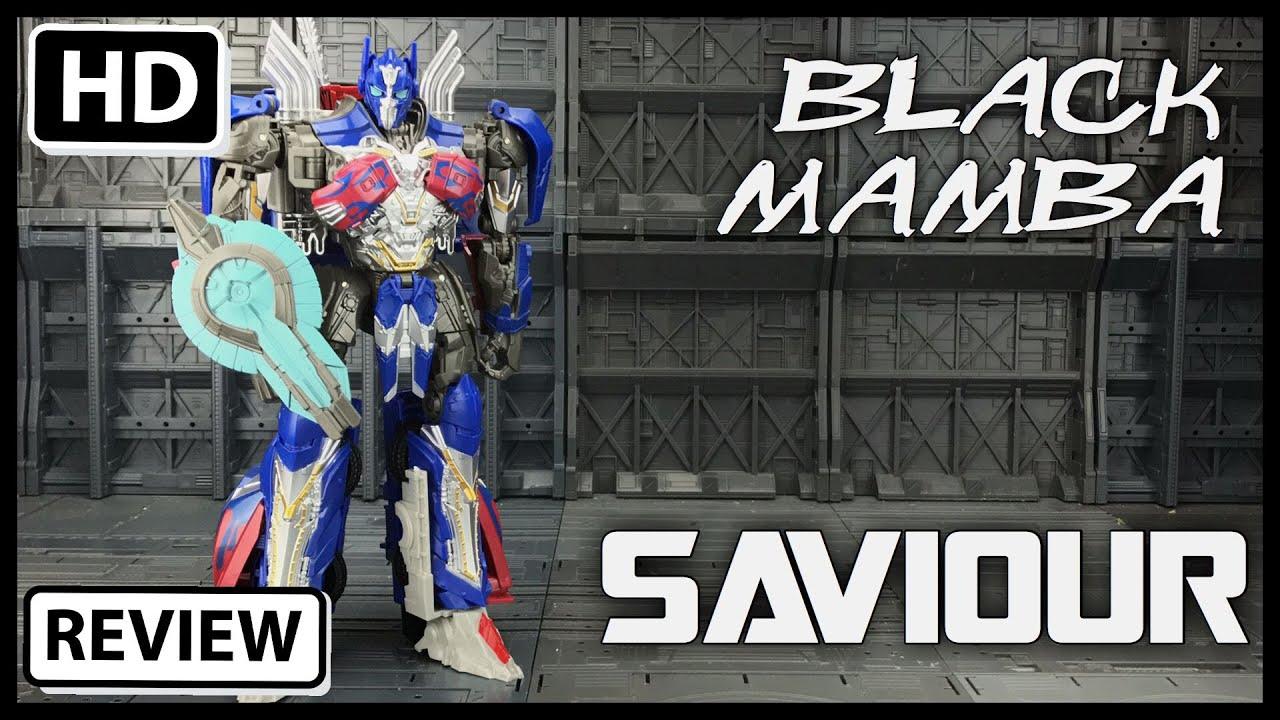 Download Black Mamba Saviour KO Oversize TRANSFORMERS THE LAST KNIGHT Voyager OPTIMUS PRIME -