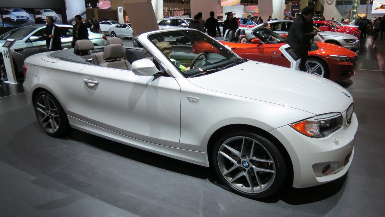 2013 bmw 128i cabriolet limited edition at the 2013 canadian int