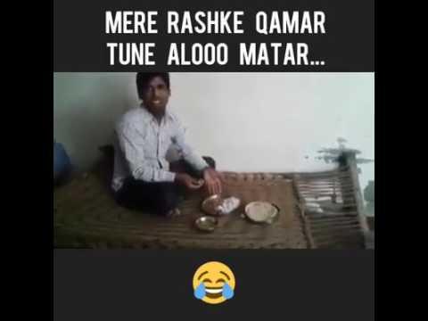 Mere Rashke Qamar Parody II Man Took To Another Level II Must Watch