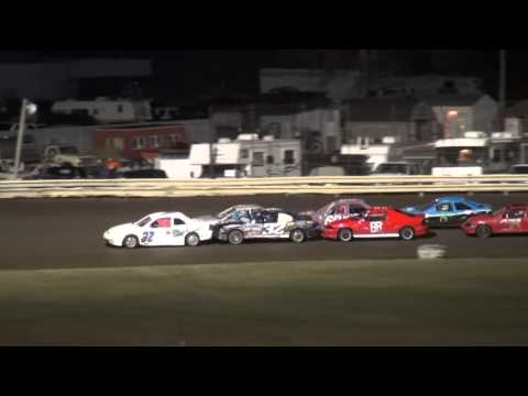 2015 Shiverfest Sport Compact B-Main Lee County Speedway 10/24/15