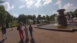 Петергоф: Римские фонтаны