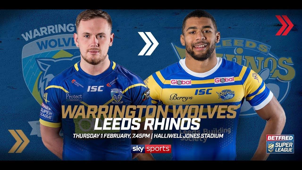 Leeds rhinos v warrington wolves betting preview nfl nfl betting guru