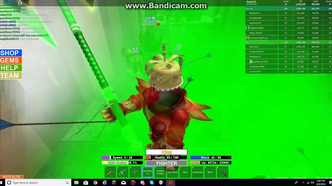 Roblox Field Of Battle Vip Server Demon Farming Part 3 No Sign