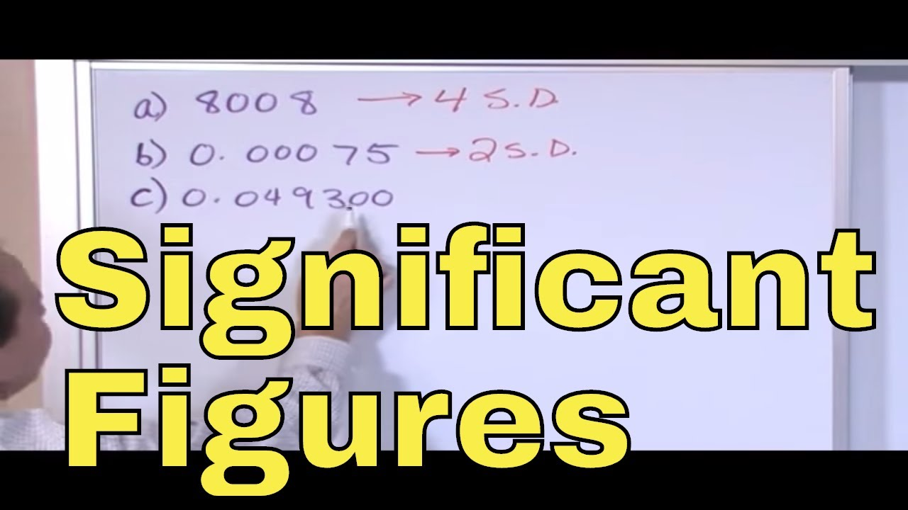 Download 03 - Significant Figures Rules (Sig Fig Rules) for Calculations in Chemistry & Physics
