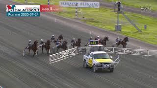Vidéo de la course PMU PRIX MIDNATTSPRINT
