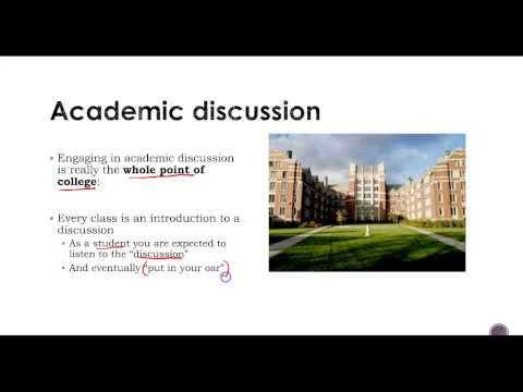 Lesson 7 - Introduction to Academic Writing