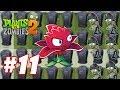 Hoa quả nổi giận 2 - Plants Vs Zombies 2 : Red Stinger, Electric Blueberry,  Infi-nut xịn quá #11
