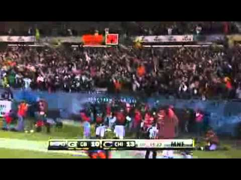 Devin Hester Punt Return Touchdown vs Green Bay Packers 9/27/10